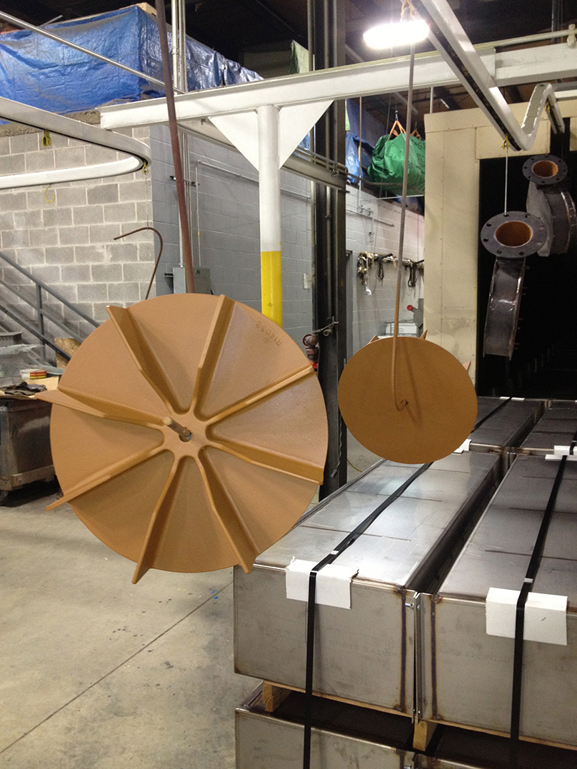 Coating Systems Applies Heresite Coatings to Refinery Fans