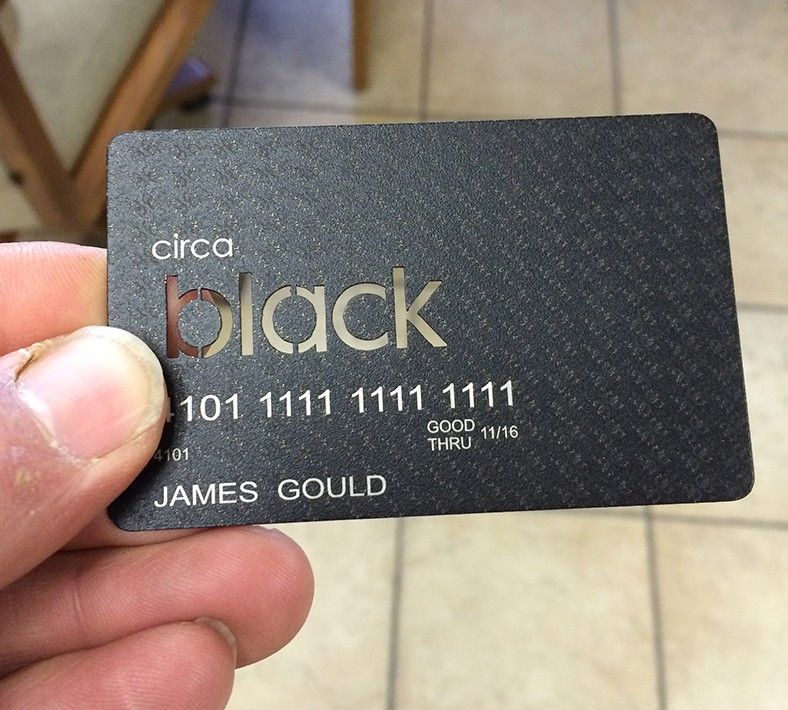 Steel Credit Card