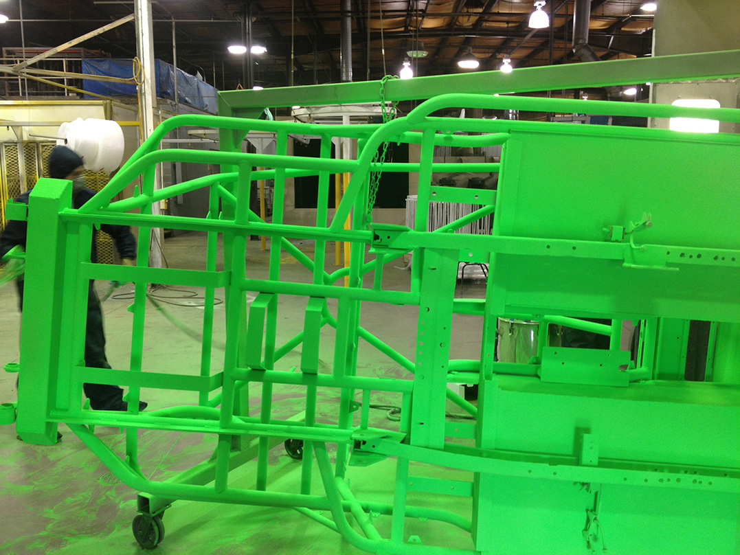 Green Powder Coating