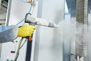 powder coating with Coating Systems, Inc