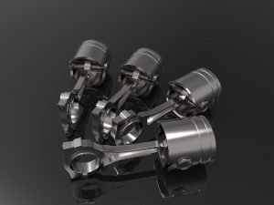 Coating systems pistons