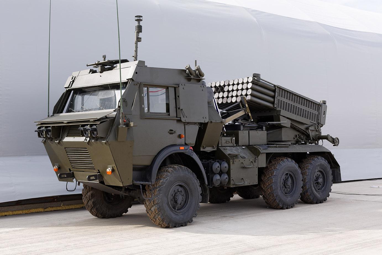 Military vehicle with emralon coating