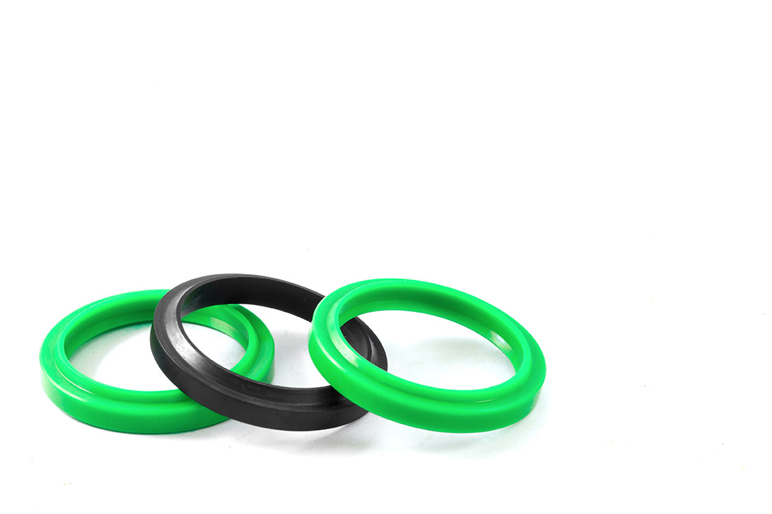 o-rings made of different materials coated by coating systems