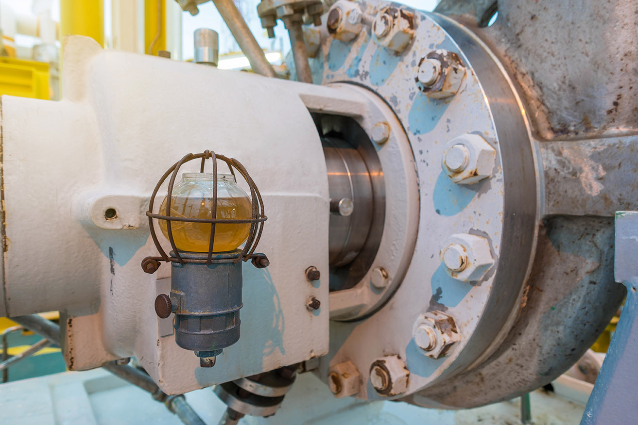 machine using dynamic seals lubricated by coating systems