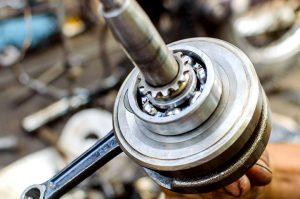 Ball bearing that uses halar coating