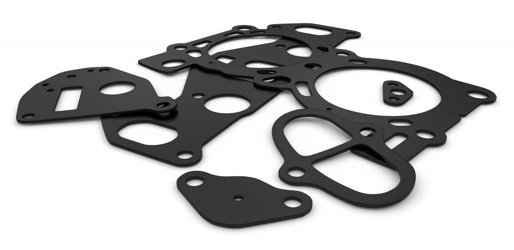 flat rubber gaskets before being coated by Coating Systems