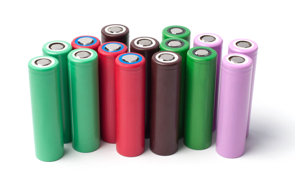 Group of lithium ion batteries