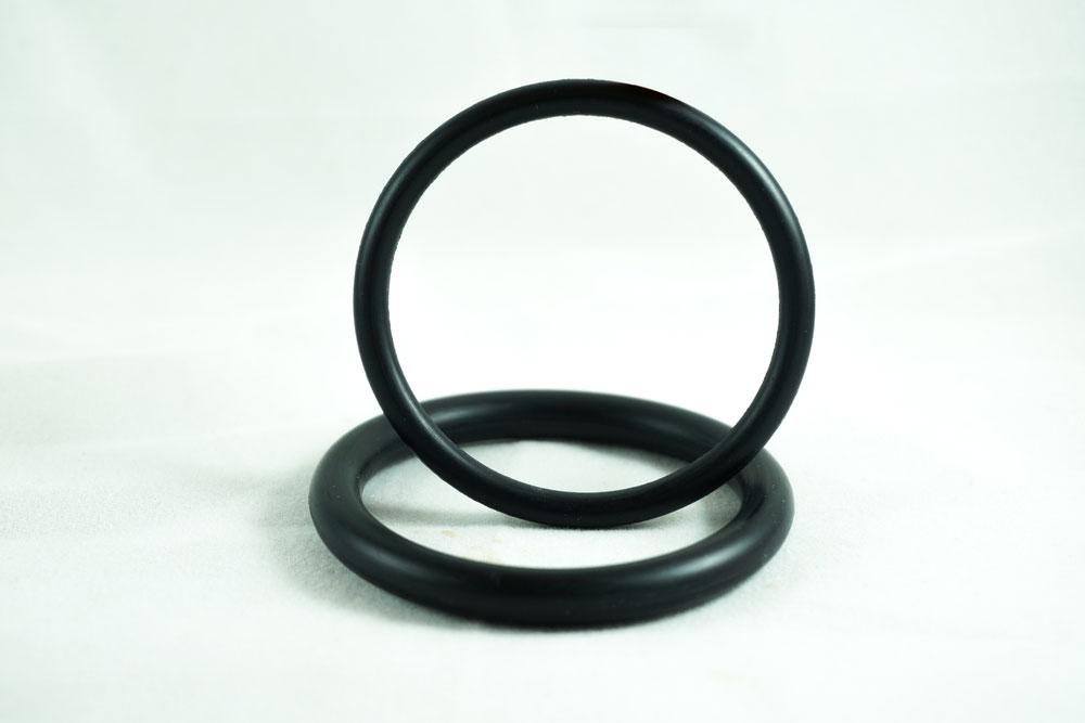 O-Ring on White Background