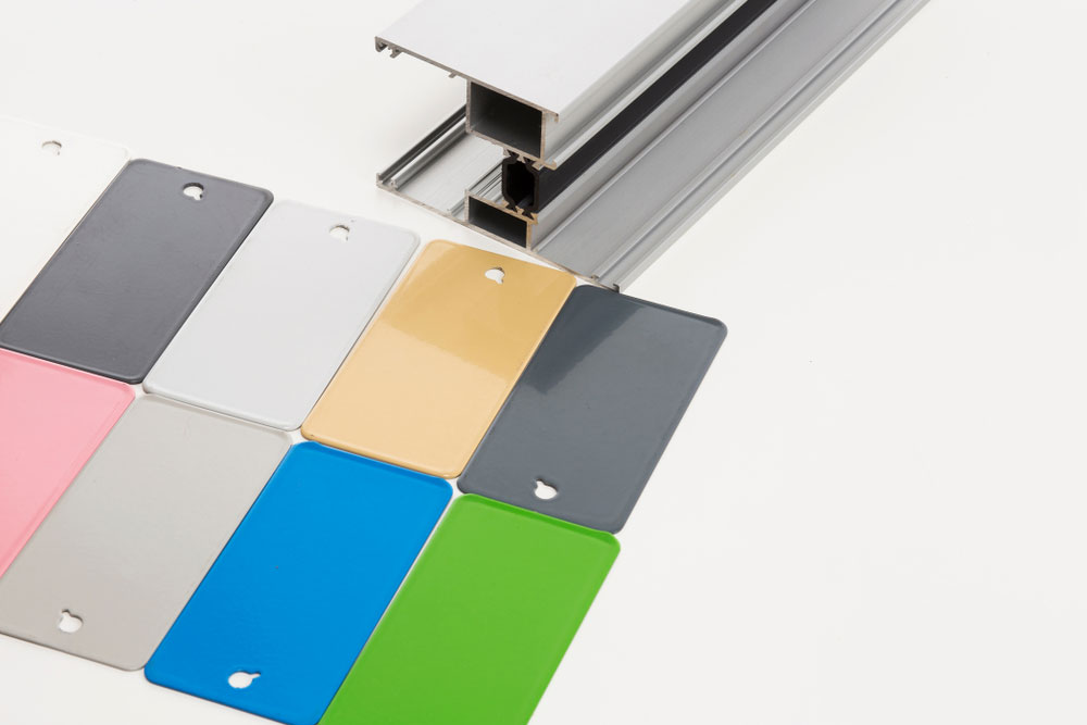 Powder Coating Color Samples