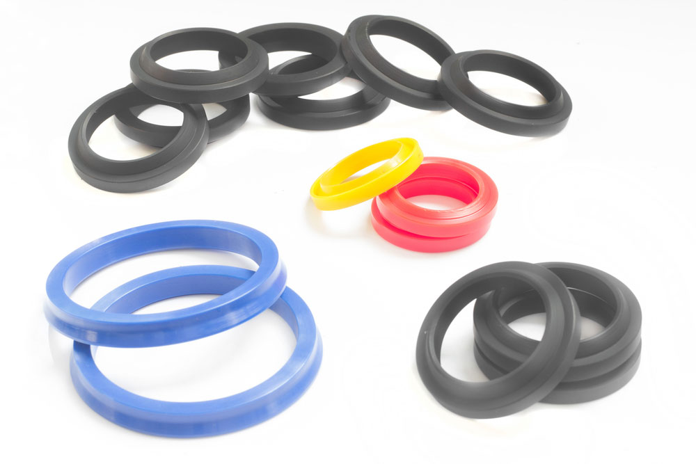 Several rubber seals