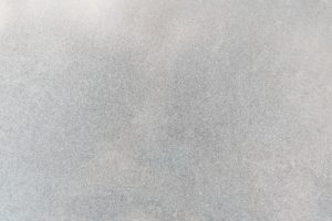 Zoomed in photo of a sandblasting surface