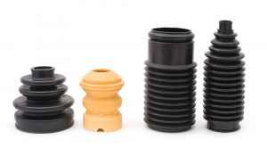 Several rubber parts