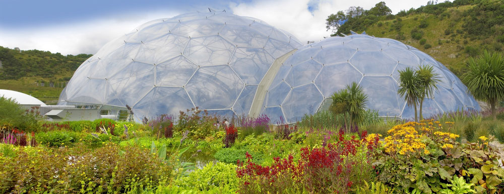Eden Project Biomes Cornwall, England