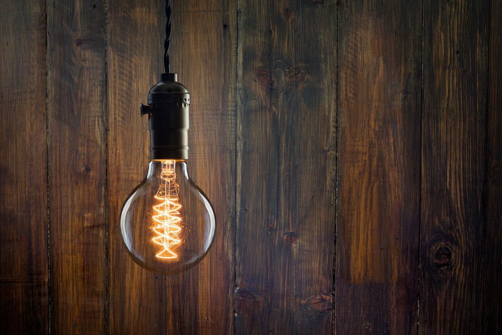 Edison-Style Light Bulb