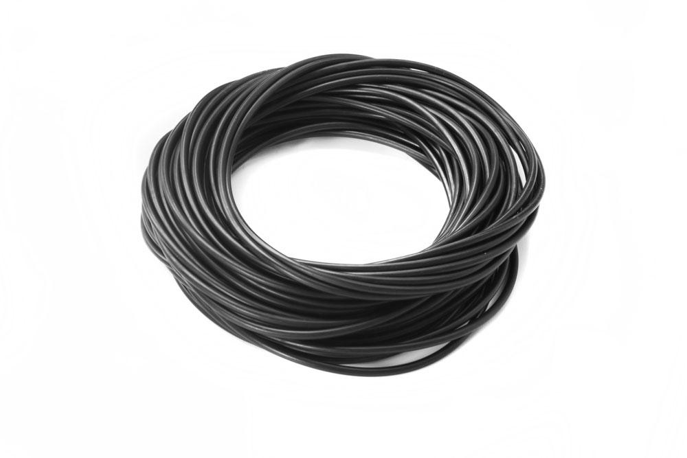 Stack of Black O-Rings