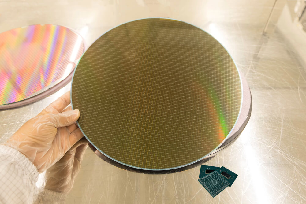 spin coated silicon wafers
