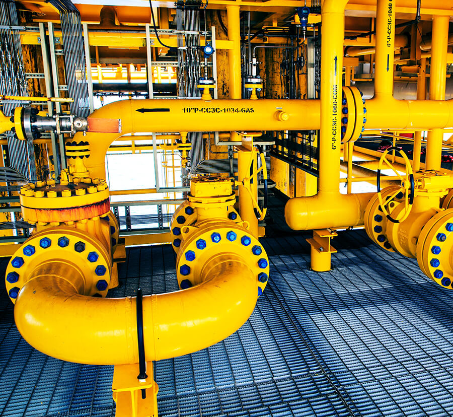 custom coated valve system for oil industry