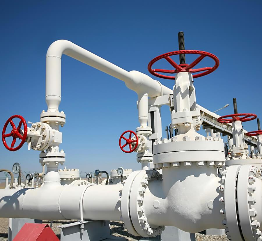 custom coatings for oil valve system